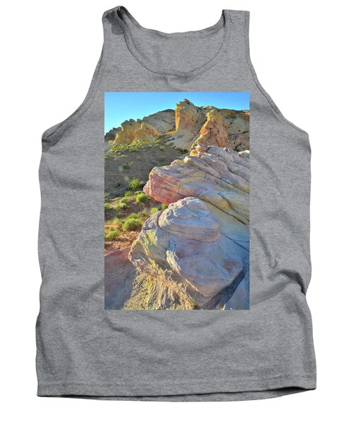 Sunset Pastels In Valley Of Fire Tank Top