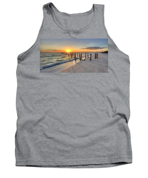 Sunset Pilings Tank Top