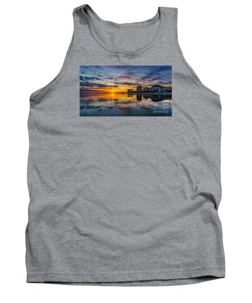 Sunset Reflection Tank Top by David Smith