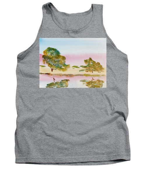 Reflections At Sunrise Tank Top