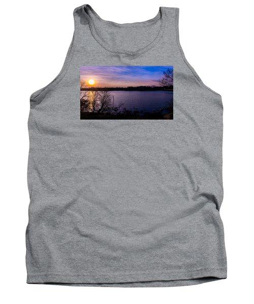 Sunset River Tank Top