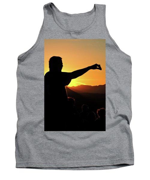 Sunset Silhouette Tank Top