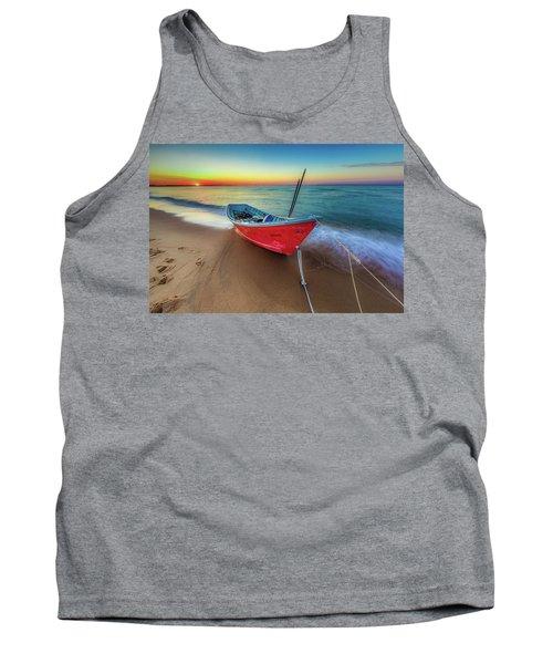 Sunset Skiff Tank Top