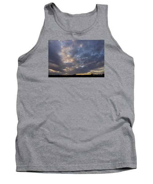 Tank Top featuring the photograph Sunset Sky by Inge Riis McDonald