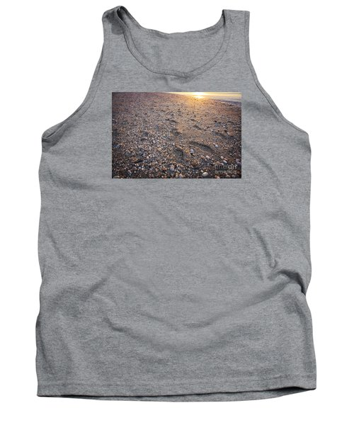 Tank Top featuring the photograph Sunset Step by Paul Cammarata