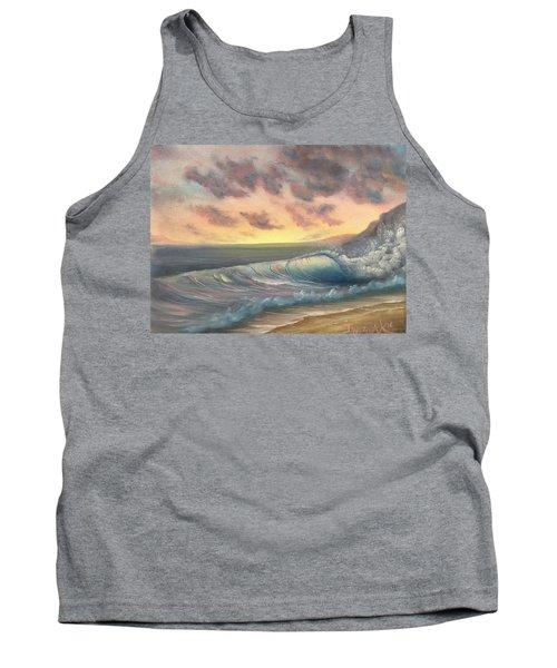 Sunset Surf  Tank Top