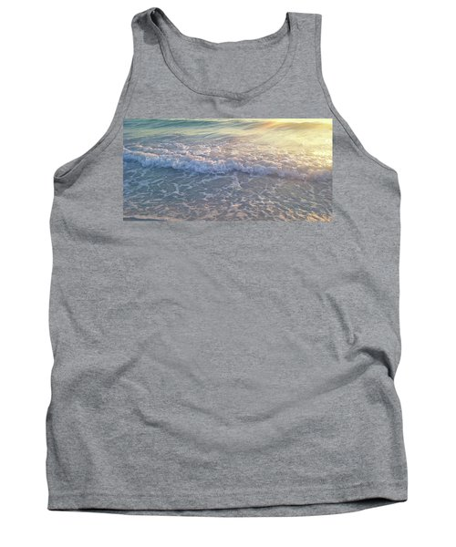 Tank Top featuring the photograph Sunset Tide by Ginny Schmidt