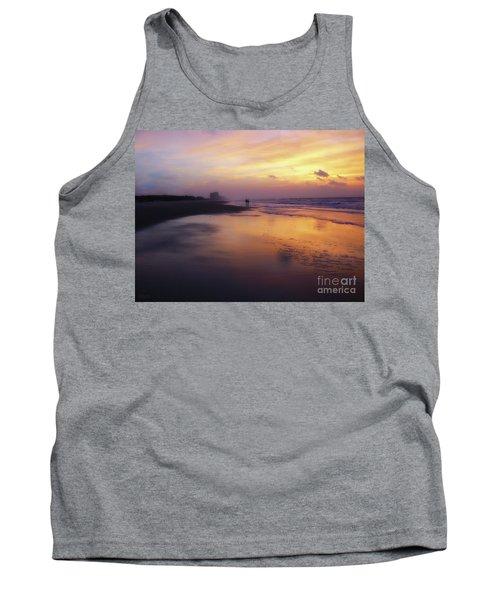 Sunset Walk On Myrtle Beach Tank Top