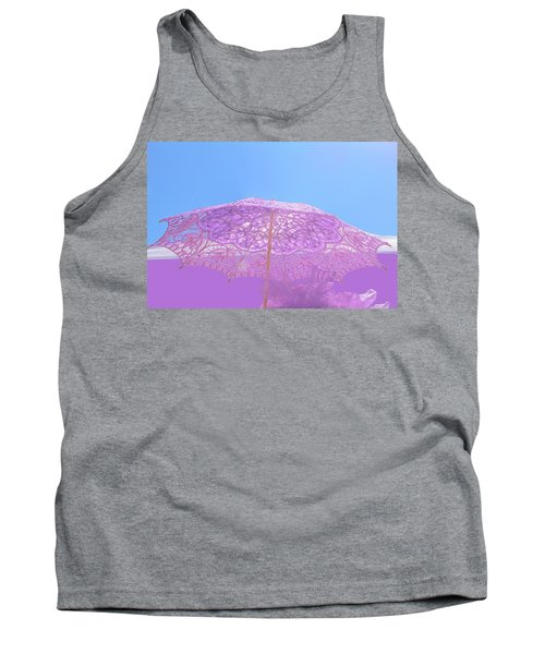 Sunshade In Pastel Color Tank Top