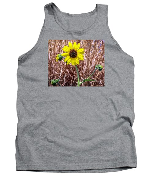 Tank Top featuring the photograph Sunshine by Elaine Malott