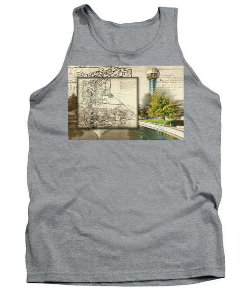 Sunsphere Mapped Tank Top