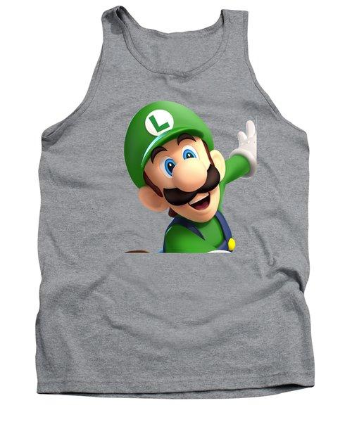 Super Luigi Tank Top