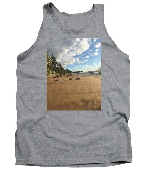 Superior Shore Tank Top by Paula Brown