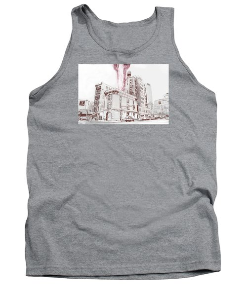 Supernatural Insurance Claim Tank Top by Kurt Ramschissel