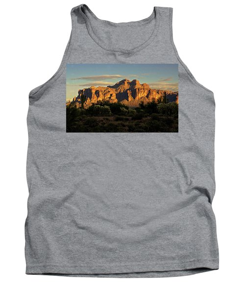 Superstitions At Sunset  Tank Top