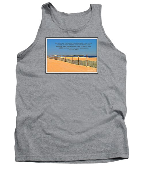 Sure Foundation Tank Top
