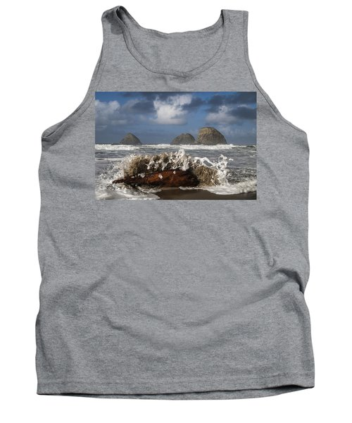 Surf And Three Arch Rocks Tank Top