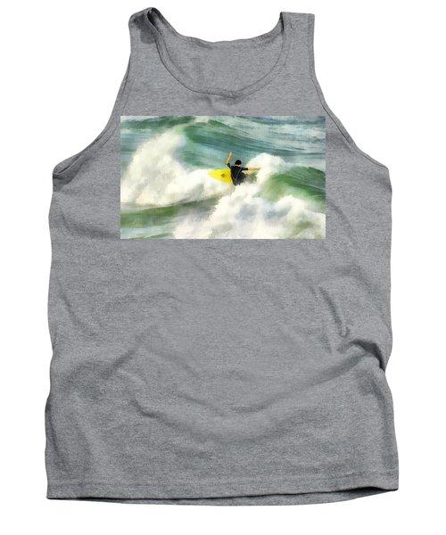 Surfer 76 Tank Top by Francesa Miller