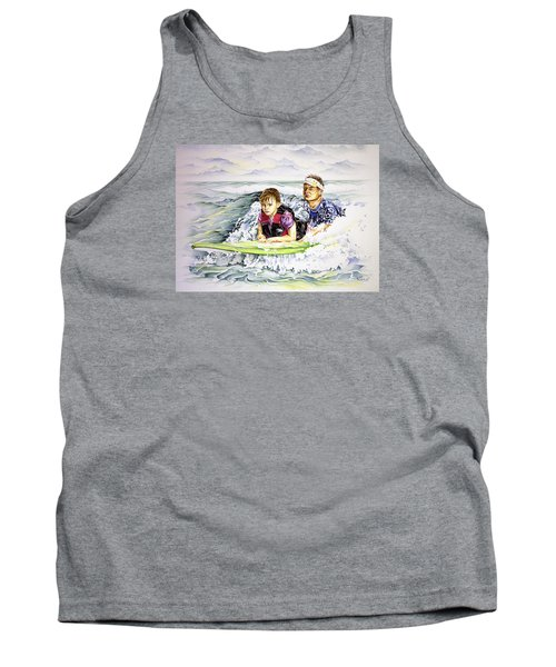 Surfers Healing Tank Top by William Love