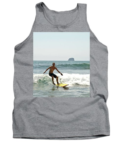 Surfing New Zealand Waves Tank Top