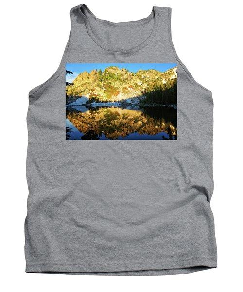 Surprise Lake Morning Reflections Tank Top