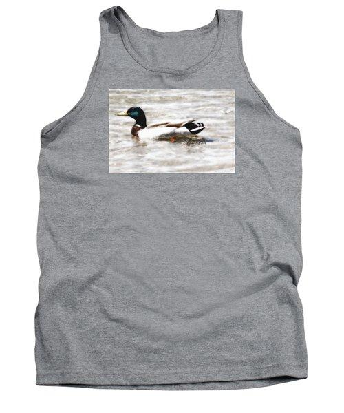 Surrealism Duck Tank Top
