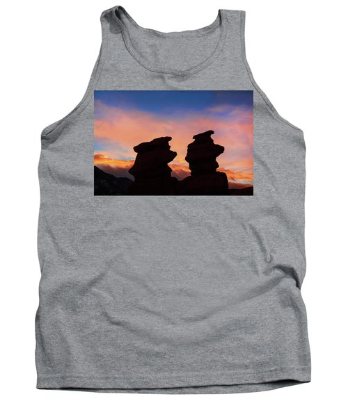 Surrender To The Infinite, Unbounded, Pure Consciousness  Tank Top
