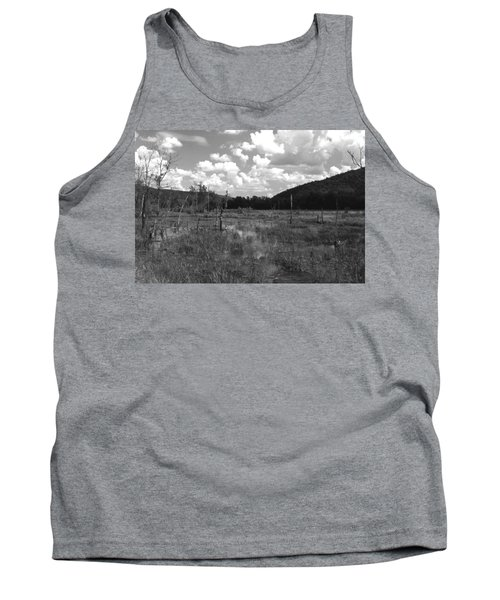 Tank Top featuring the photograph Swampoem by Curtis J Neeley Jr