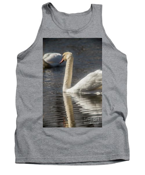 Tank Top featuring the photograph Swan by David Bearden