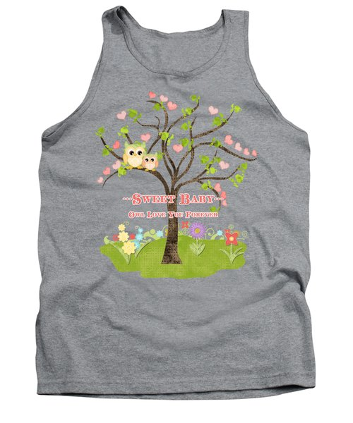 Sweet Baby - Owl Love You Forever Nursery Tank Top