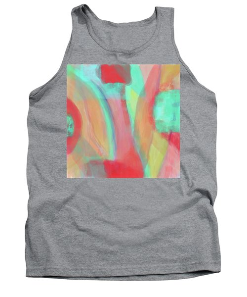 Tank Top featuring the digital art Sweet Little Abstract by Susan Stone