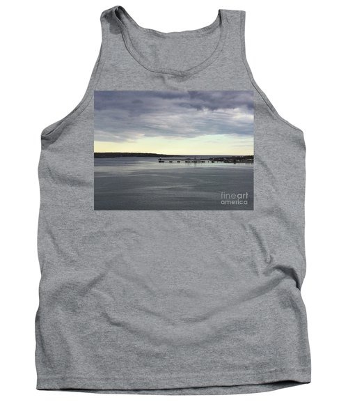 Swirling Currents On Casco Bay Tank Top