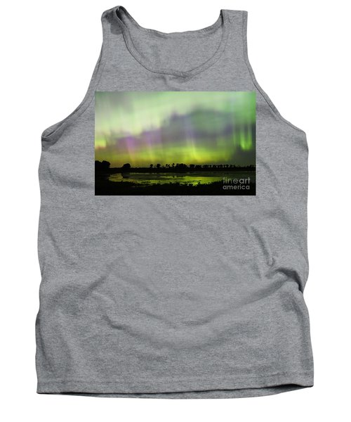 Tank Top featuring the photograph Swirling Curtains 2 by Larry Ricker