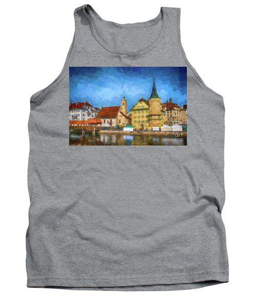 Swiss Town Tank Top by Pravine Chester
