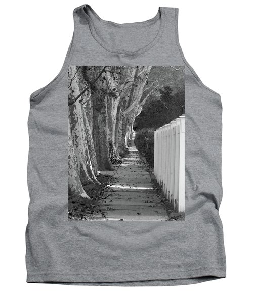 Sycamore Walk-grayscale Version Tank Top