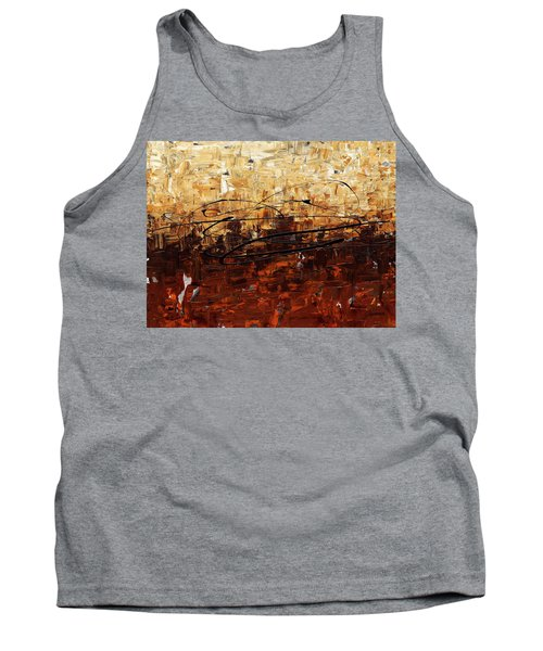Tank Top featuring the painting Symphony by Carmen Guedez