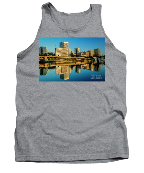 Tacoma's Waterfront,washington Tank Top