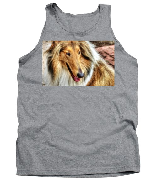Taffy Collie Tank Top