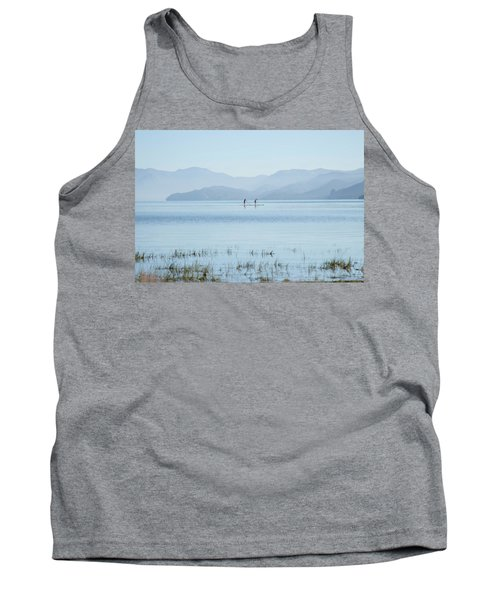 Tahoe Paddle Boarders Tank Top