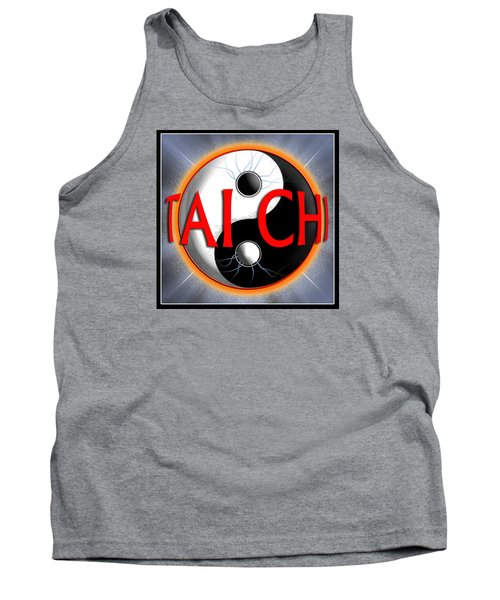 Tai Chi Tank Top by Steve Sperry