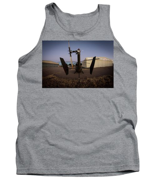 Tank Top featuring the photograph Tailblade by Paul Job