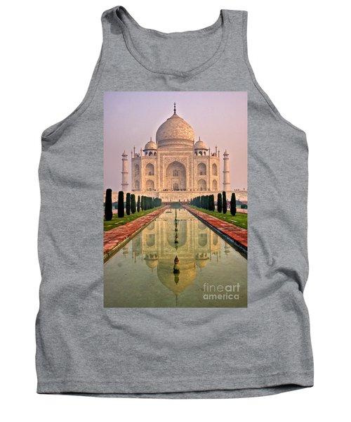 Taj Mahal At Sunrise Tank Top
