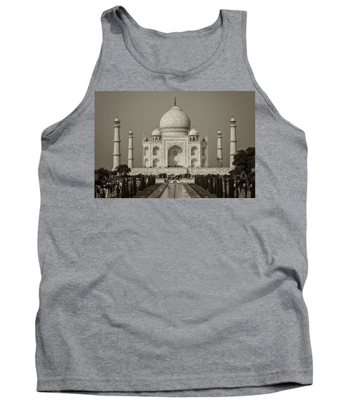 Taj Mahal Tank Top by Hitendra SINKAR