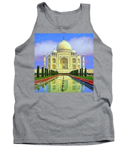 Taj Mahal Morning Tank Top