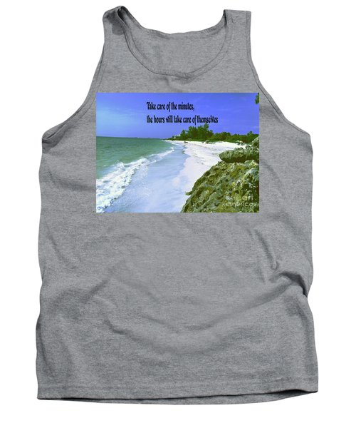 Tank Top featuring the photograph Take Care Of The Minutes by Gary Wonning
