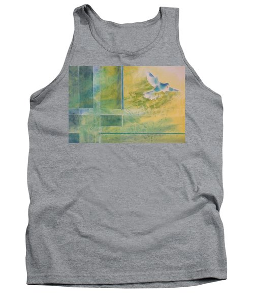 Taking Flight To The Light Tank Top