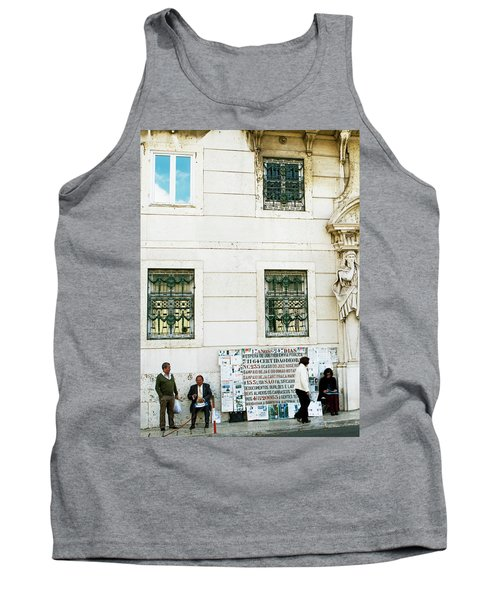 Tank Top featuring the photograph Taking It To The Streets by Lorraine Devon Wilke