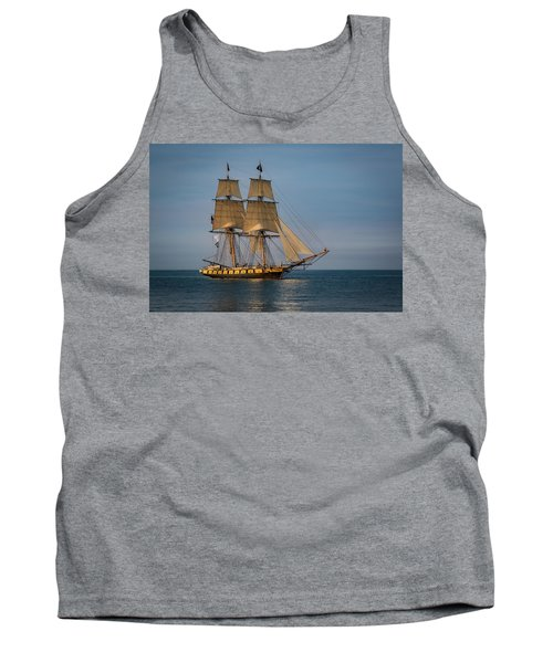 Tall Ship U.s. Brig Niagara Tank Top
