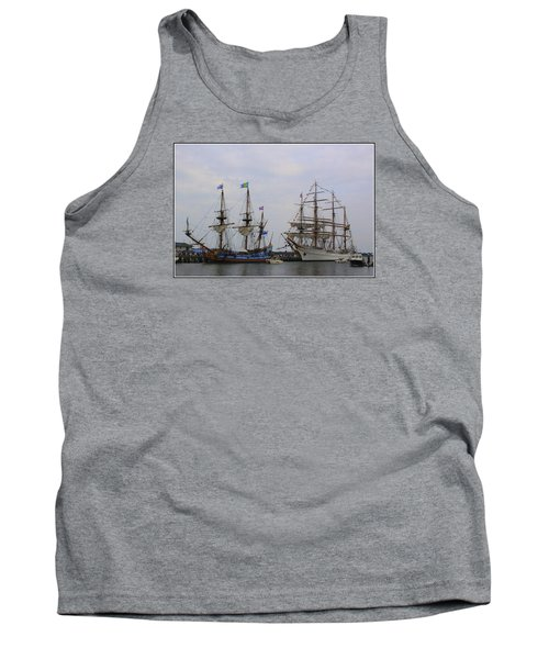 Historic Tall Ships Hermione And Sagres Tank Top