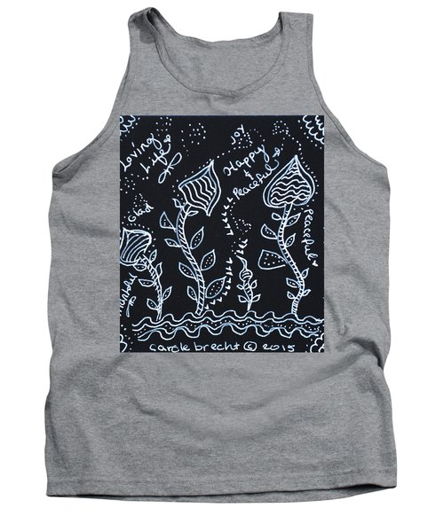 Tangle Flowers Tank Top